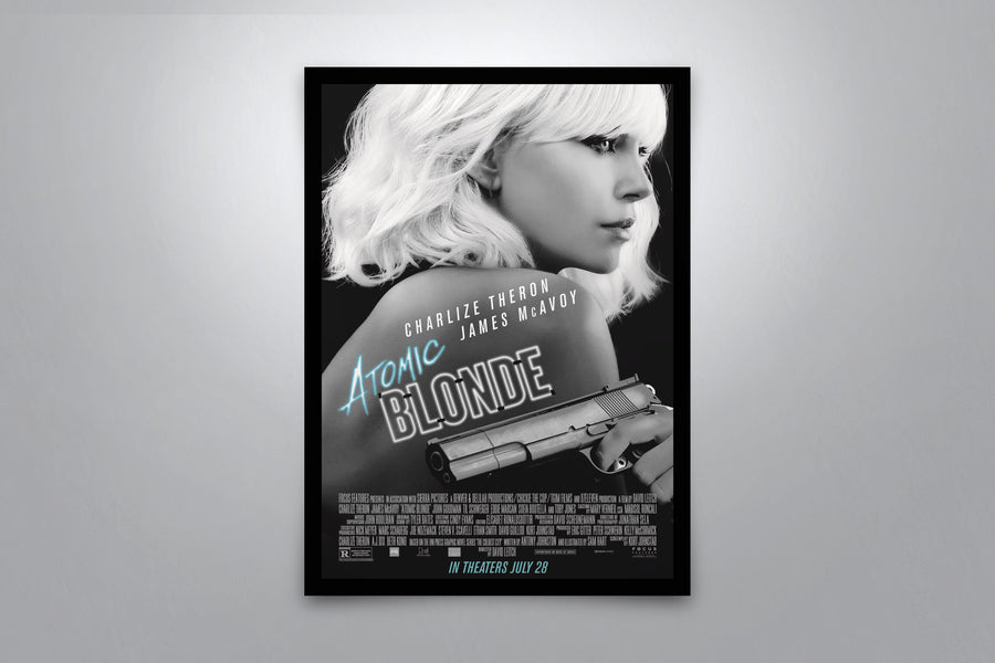 Atomic Blonde - Signed Poster + COA