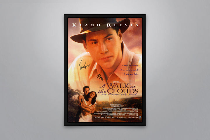 A Walk in the Clouds - Signed Poster + COA