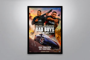 Bad Boys for Life - Signed Poster + COA