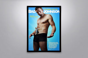 Bad Johnson - Signed Poster + COA