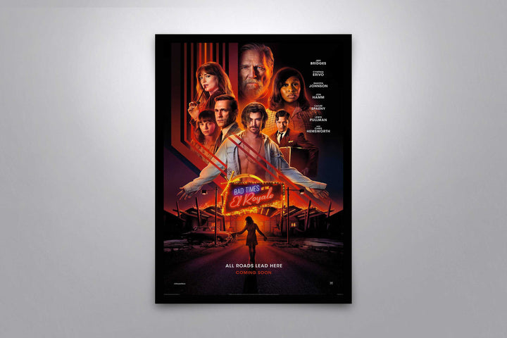Bad Times at the El Royale - Signed Poster + COA