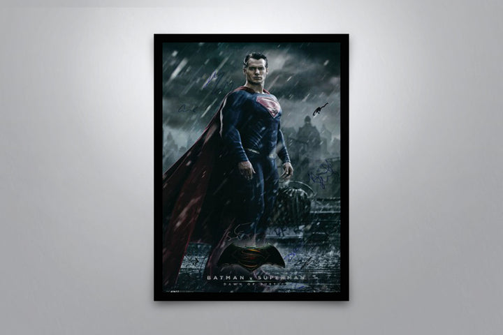 Superman, Dawn of Justice - Signed Poster + COA