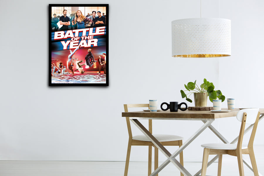 Battle of the Year - Signed Poster + COA
