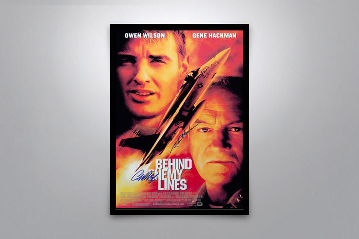 Behind Enemy Lines - Signed Poster + COA