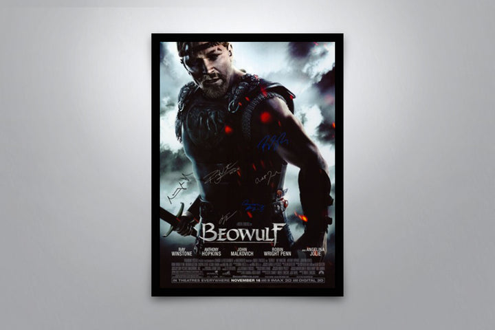 Beowulf - Signed Poster + COA
