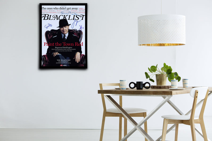 The Blacklist - Signed Poster + COA