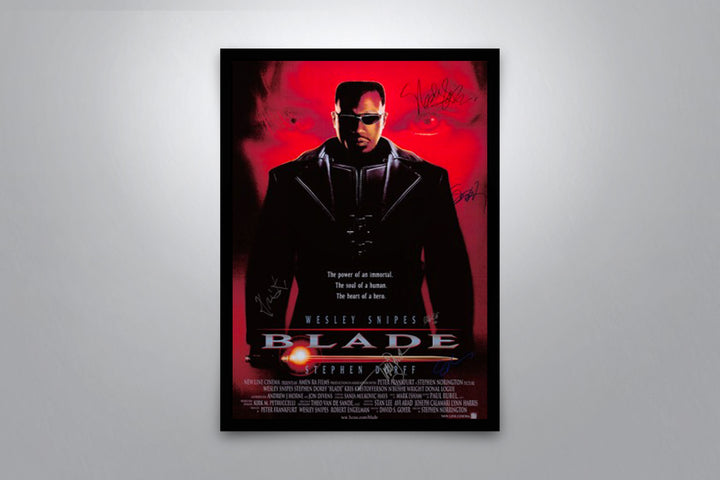 Blade - Signed Poster + COA