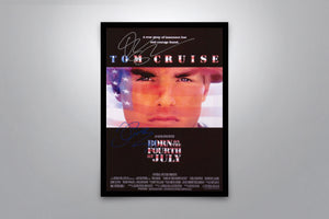 Born On The Fourth Of July  - Signed Poster + COA
