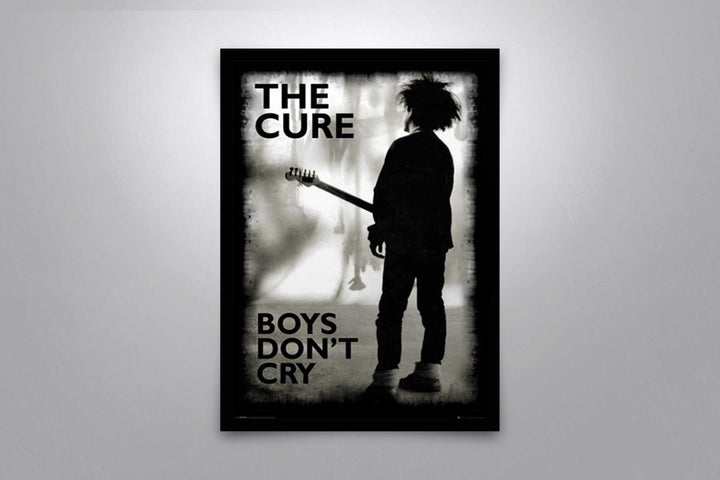 The Cure: Boys Don't Cry - Signed Poster + COA