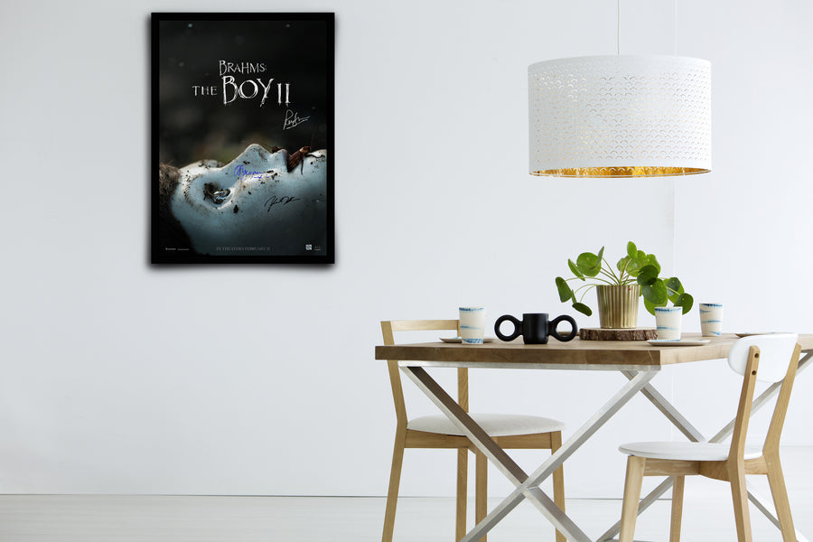 Brahms: The Boy II - Signed Poster + COA