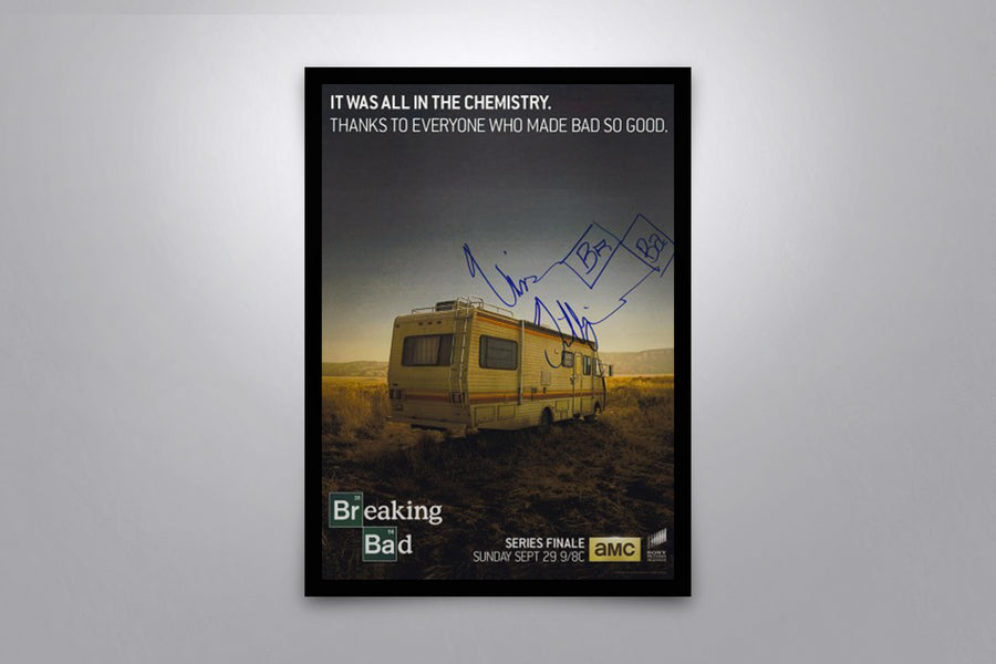 Breaking Bad - Signed Poster + COA