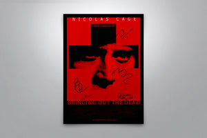 Bringing Out the Dead - Signed Poster + COA