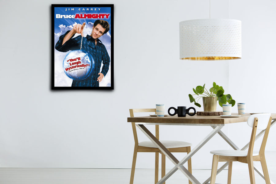 Bruce Almighty - Signed Poster + COA
