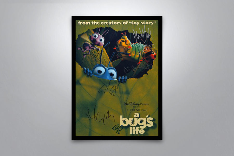 A Bug's Life - Signed Poster + COA