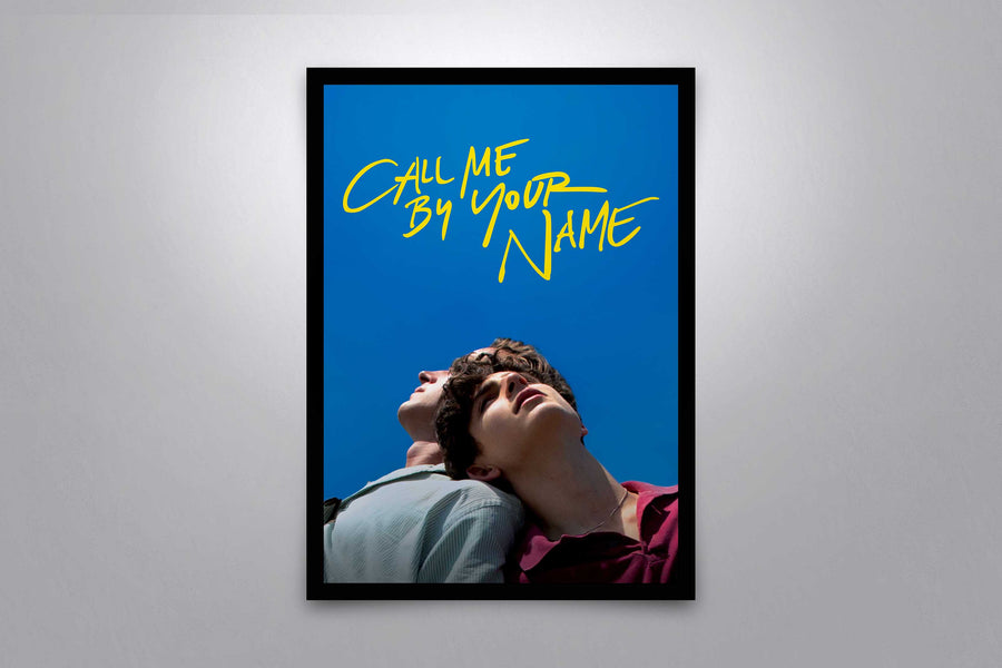Call Me by Your Name - Signed Poster + COA