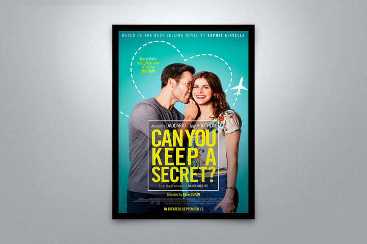 Can You Keep A Secret - Signed Poster + COA