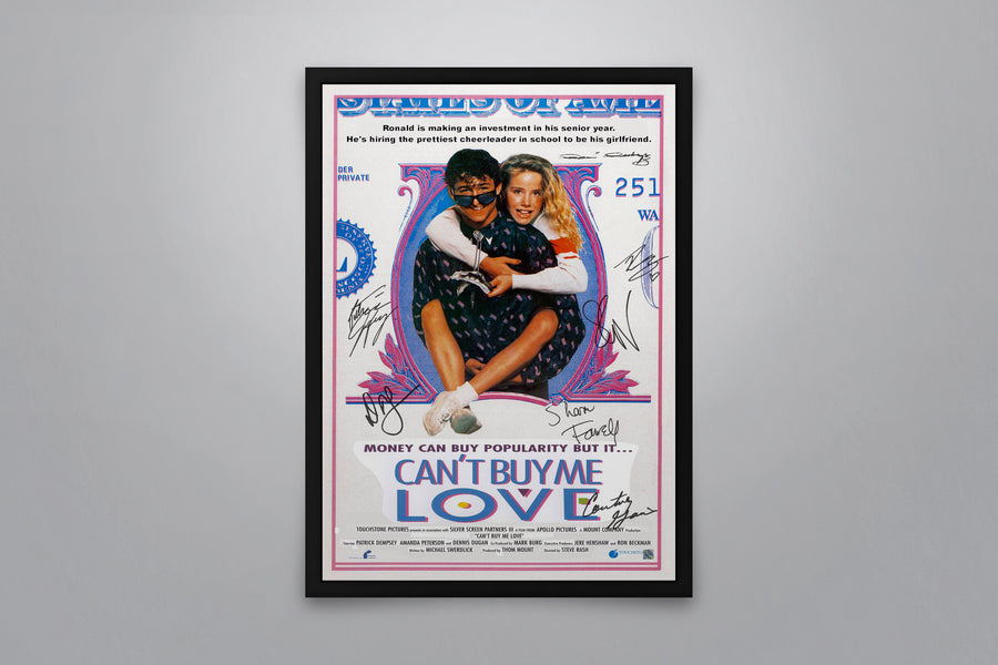 CAN'T BUY ME LOVE - Signed Poster + COA
