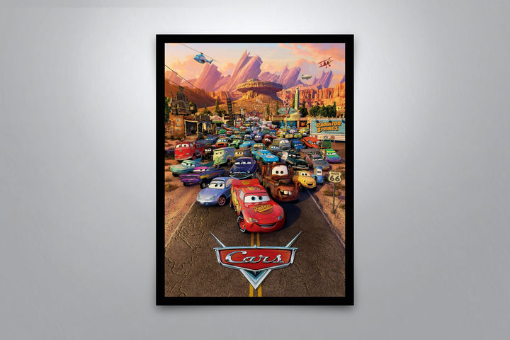 Cars - Signed Poster + COA