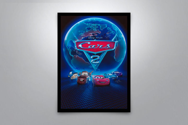 Cars 2 - Signed Poster + COA