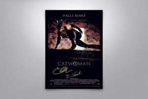 Catwoman - Signed Poster + COA