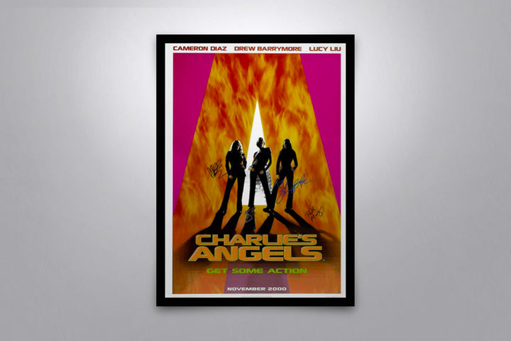 Charlie's Angels - Signed Poster + COA