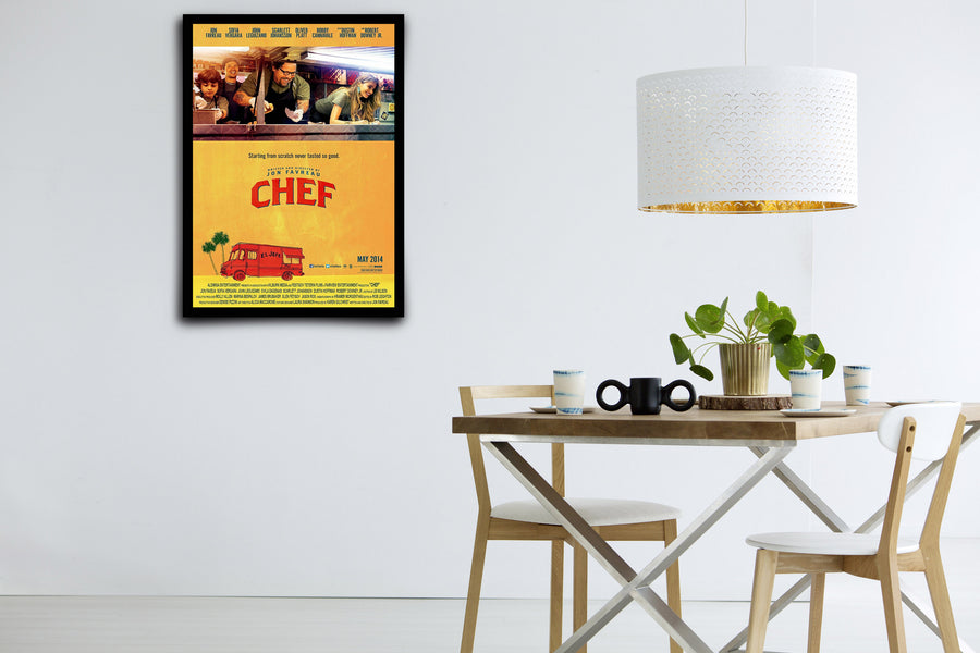 Chef - Signed Poster + COA