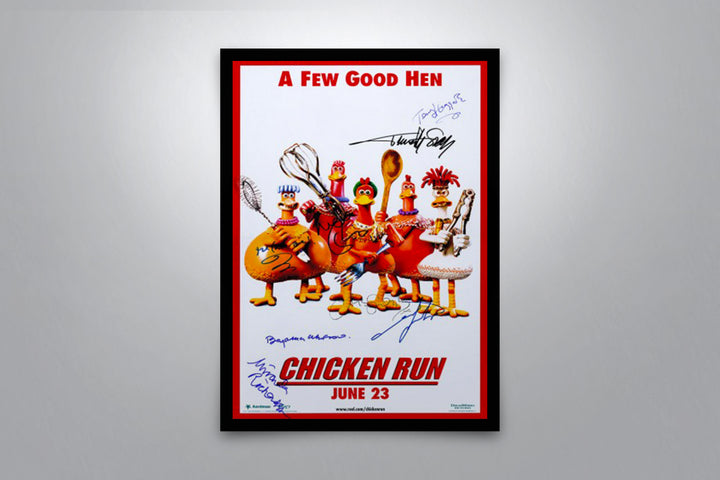 Chicken Run - Signed Poster + COA