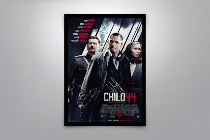Child 44  - Signed Poster + COA