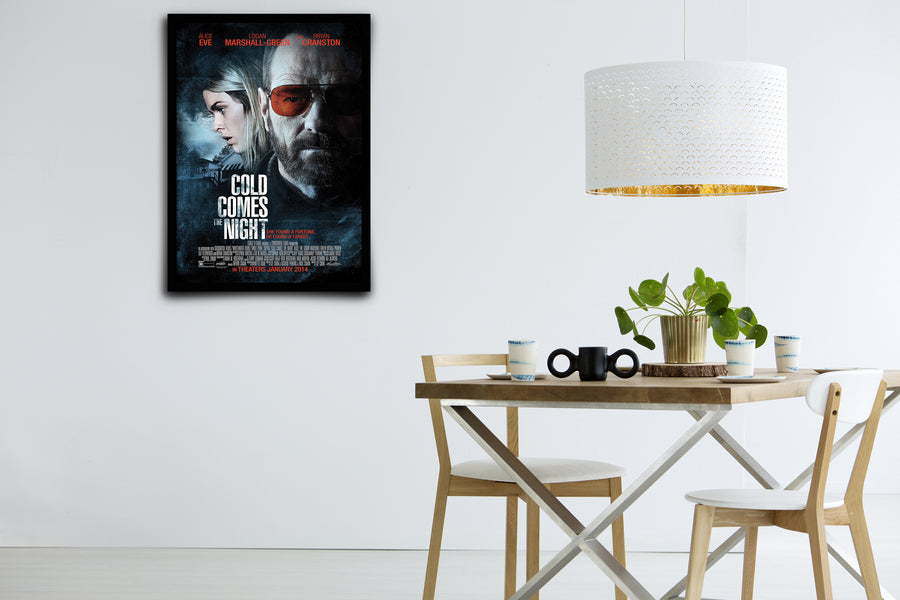 Cold Comes the Night - Signed Poster + COA
