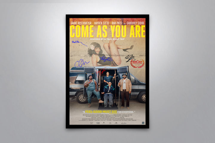 Come As You Are - Signed Poster + COA
