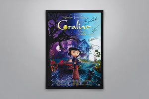 Coraline - Signed Poster + COA
