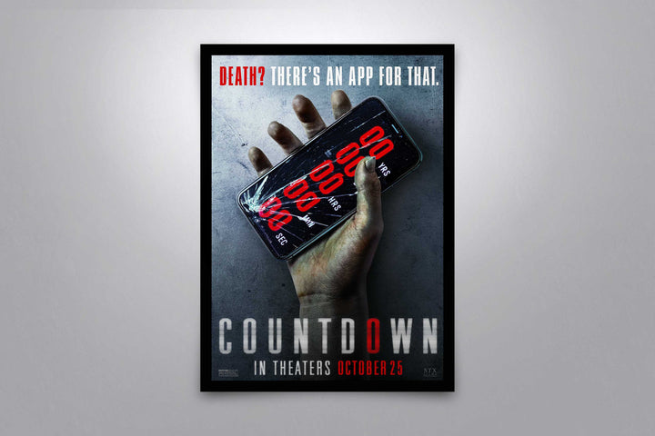Countdown - Signed Poster + COA