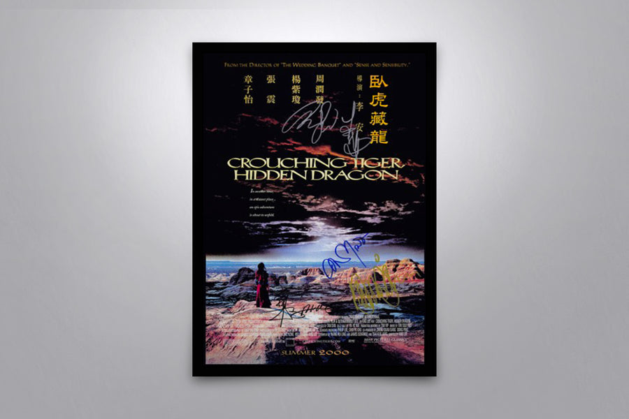Crouching Tiger, Hidden Dragon - Signed Poster + COA