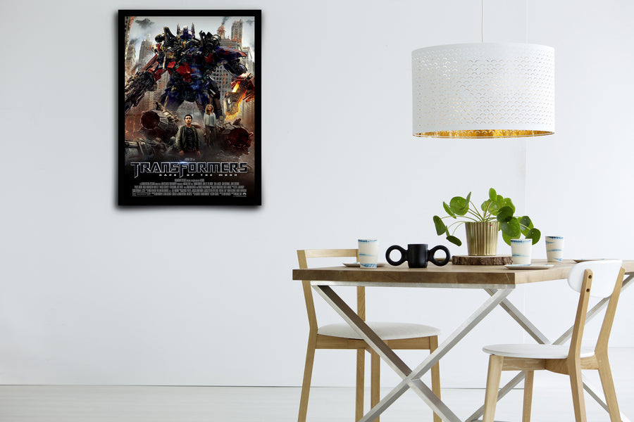 TRANSFORMERS: Dark of the Moon - Signed Poster + COA