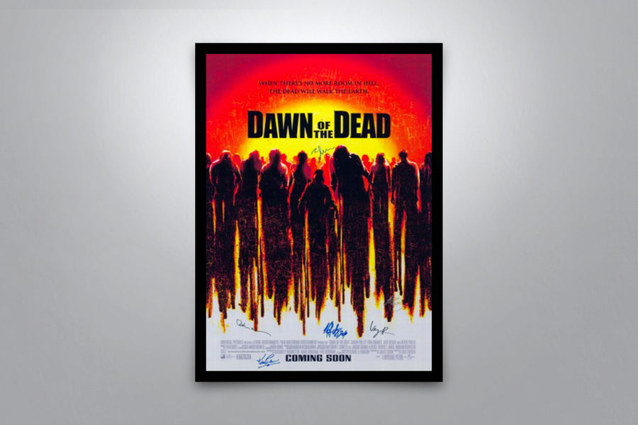 Dawn of the Dead - Signed Poster + COA