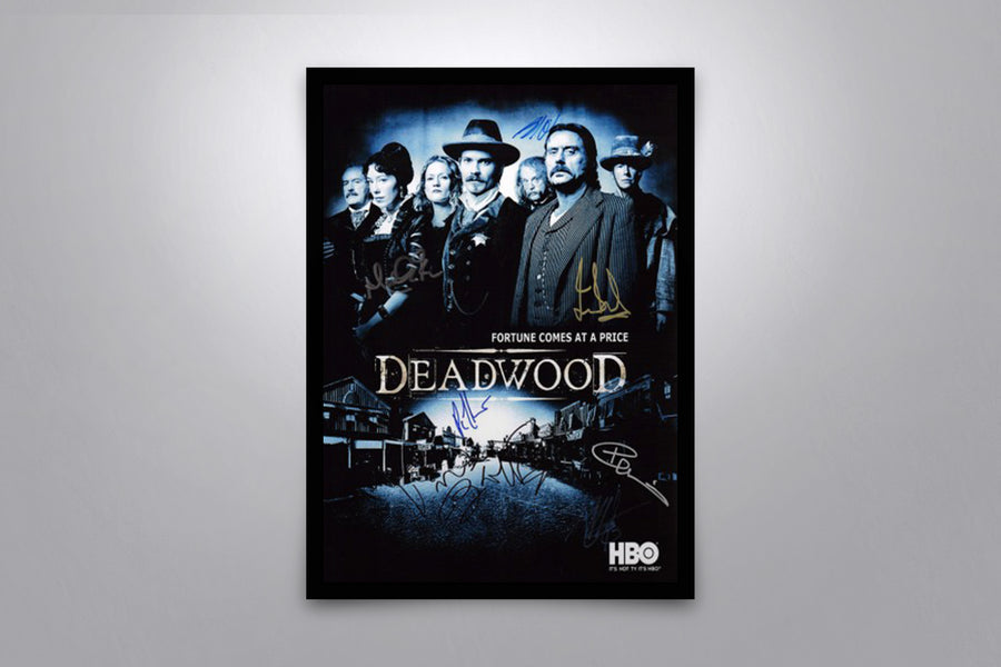 Deadwood - Signed Poster + COA