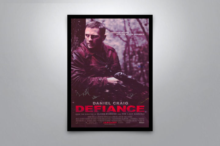 Defiance - Signed Poster + COA