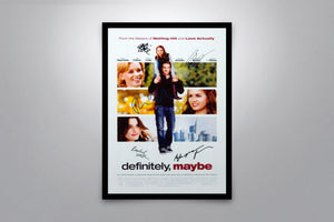 Definitely, Maybe - Signed Poster + COA