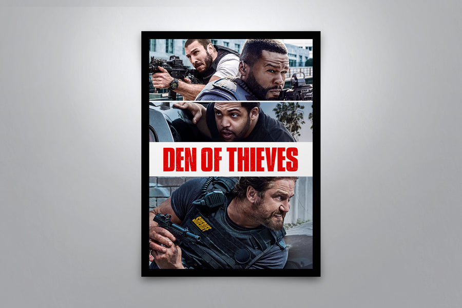 Den of Thieves - Signed Poster + COA