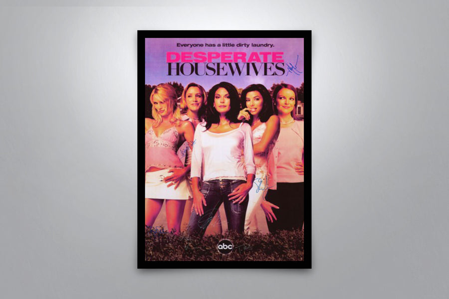 Desperate Housewives - Signed Poster + COA
