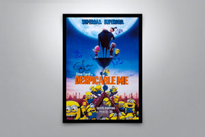 Despicable Me - Signed Poster + COA