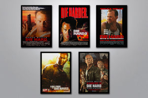 Die Hard Autographed Poster Collection