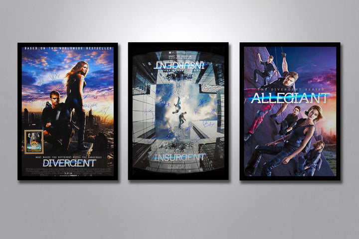 Divergent Autographed Poster Collection