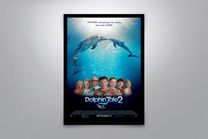 Dolphin Tale 2 - Signed Poster + COA