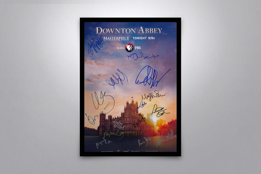 Downton Abbey - Signed Poster + COA