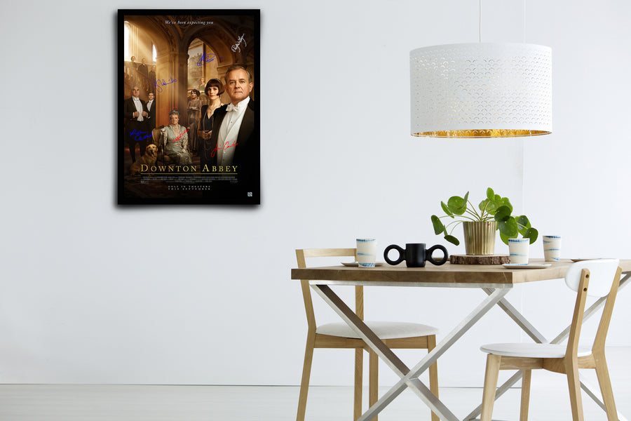 Downton Abbey Movie - Signed Poster + COA