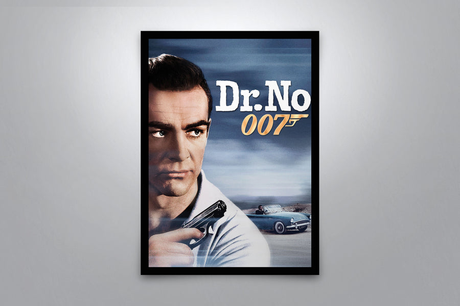 Dr. No (007) - Signed Poster + COA
