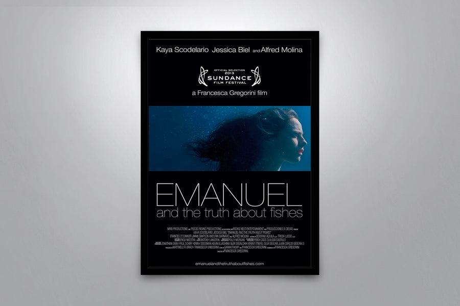 The Truth About Emanuel  - Signed Poster + COA