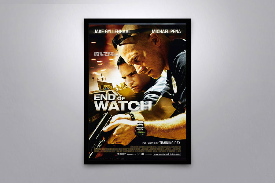 End of Watch - Signed Poster + COA