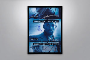 Enemy of the State - Signed Poster + COA